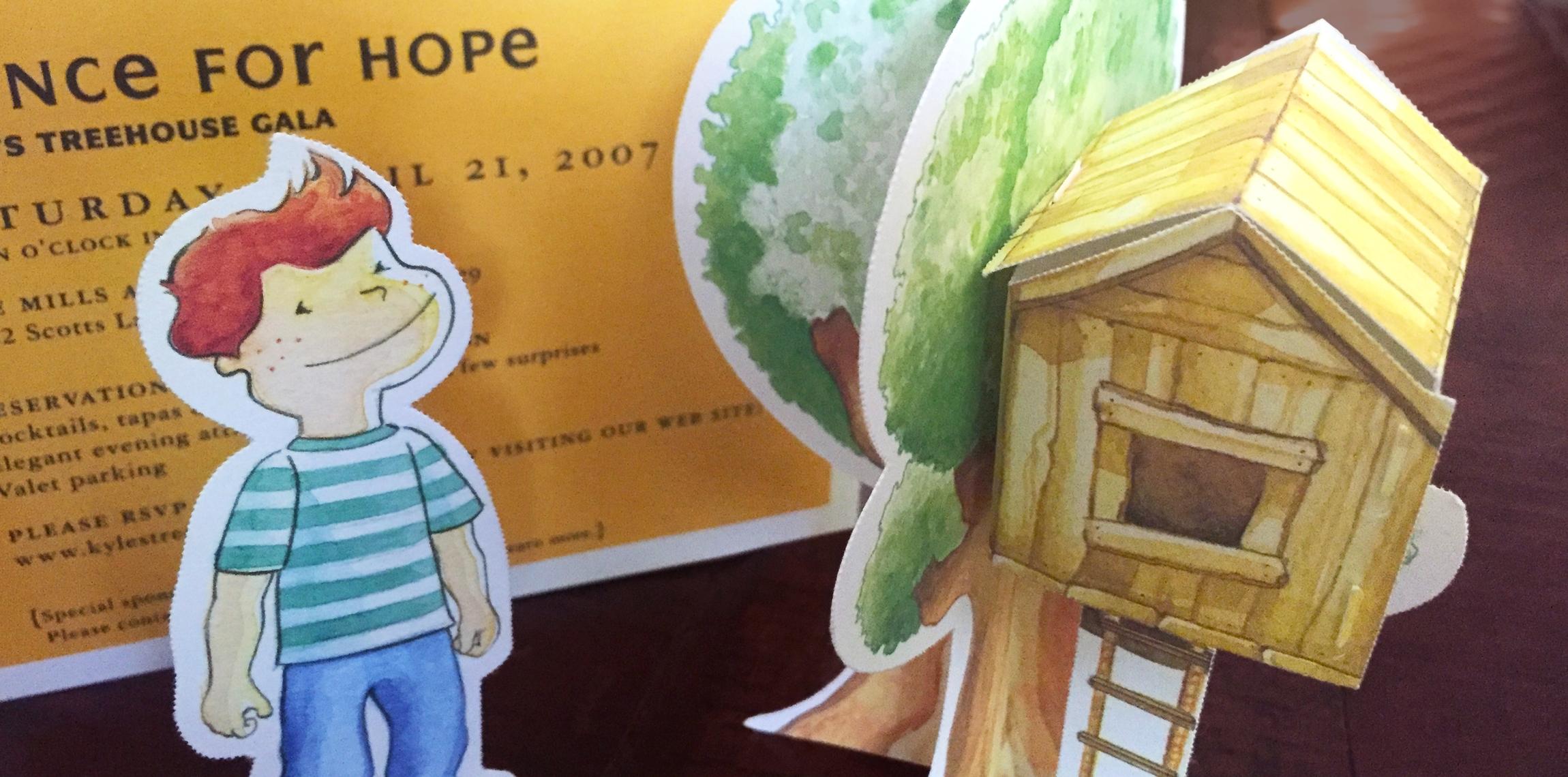 Kyle's Treehouse: Illustration Graphic Design