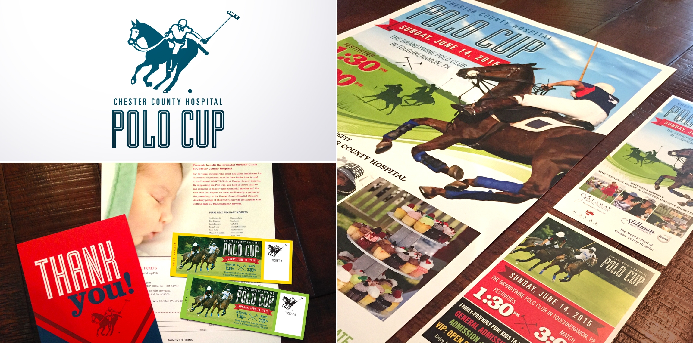 Chester County Hospital Polo Cup: Event Promotion Package