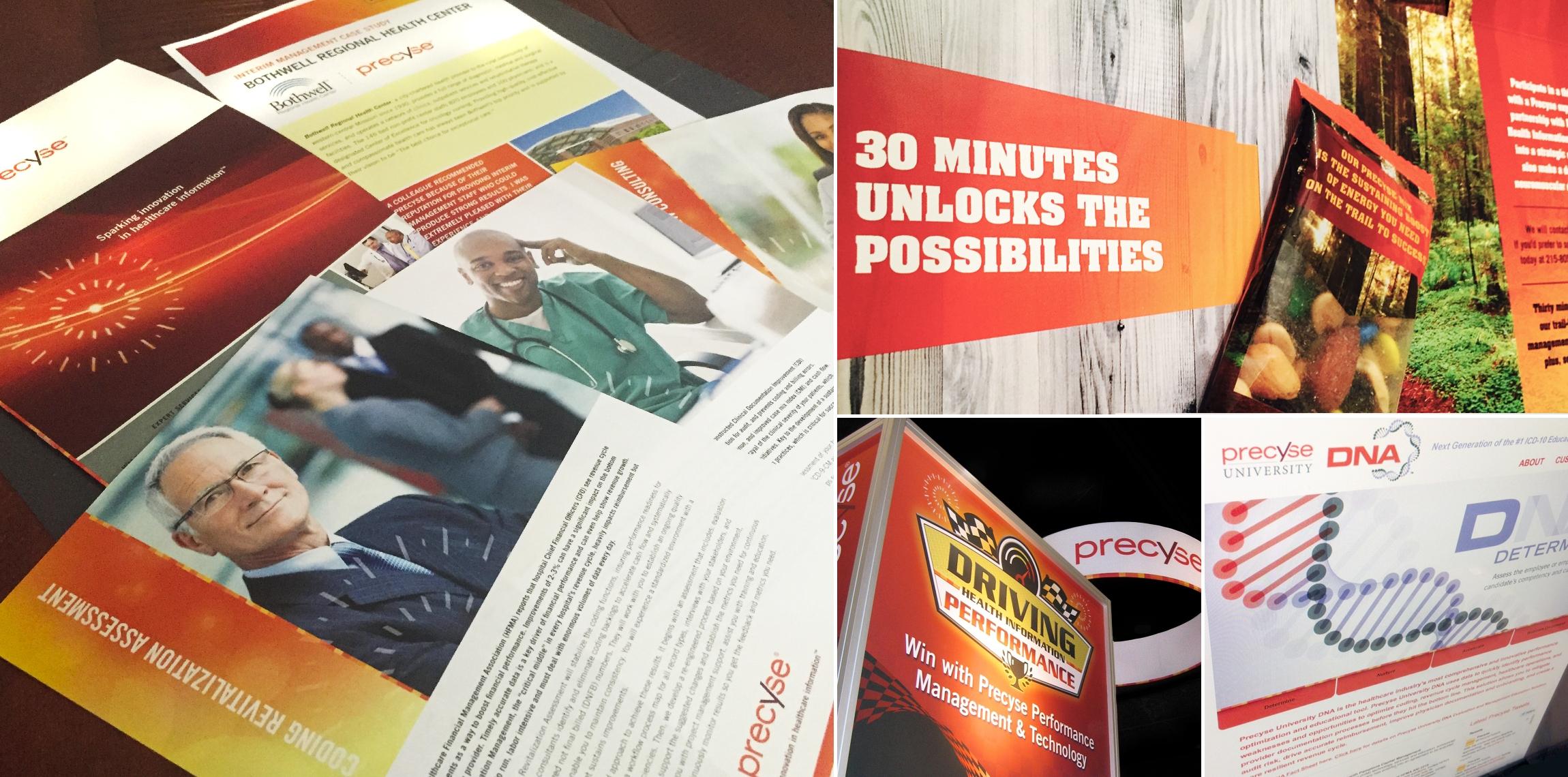 Precyse: Print and Digital Rebranding