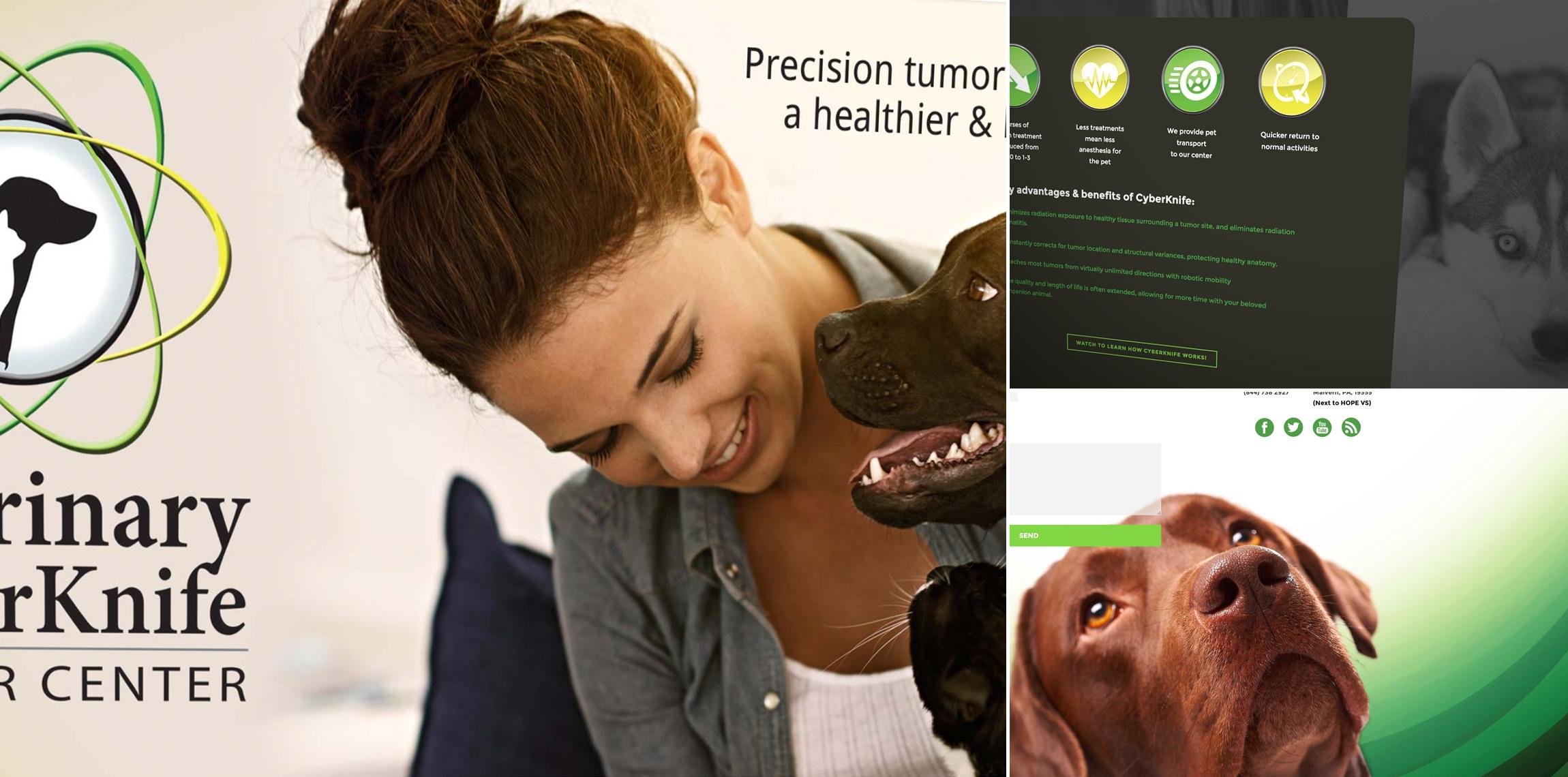 Veterinary CyberKnife: Tradeshow Booth