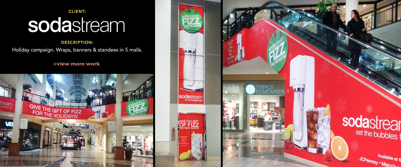 sodastream Mall Installation