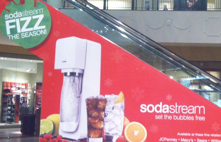 SodaStream: Large Format Print Design